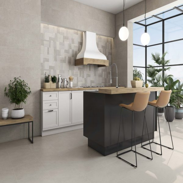 droit cement and decor and reine Tiles