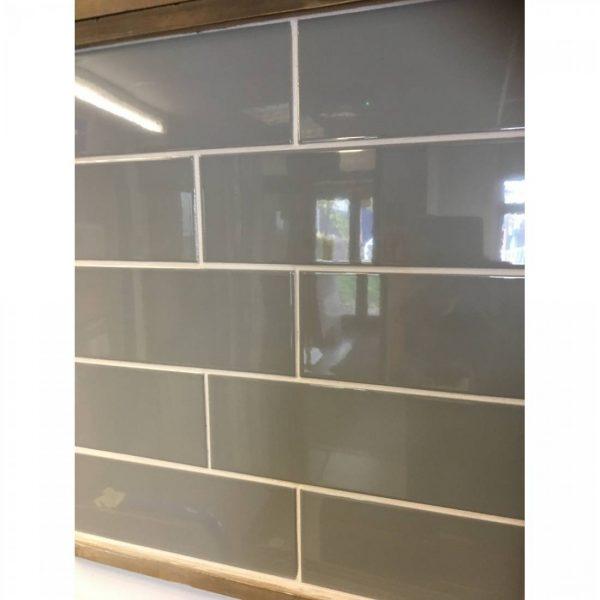 liso grey gloss 10x30 tiles