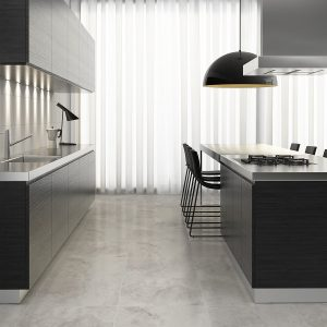 milano_silver_and_10x30_white_roomset Tiles