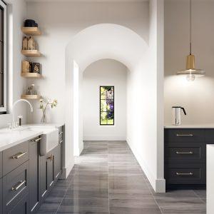 Carina Dark Grey Tiles